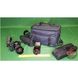 Digital Pentax Camera w/Flash - Charger in Case
