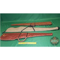 Soft Shell Gun Cases (3) (2 Brown, 1 Beige)
