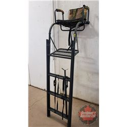 "16' Ladder Tree Stand ""Big Dog"" Padded Flip Up Seat (53cm Long x 50cm Wide x 152cm High) 20 KGS (Exp"
