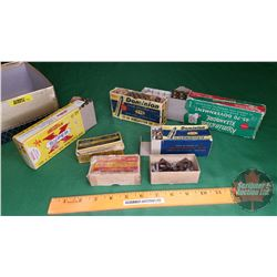 AMMO: Variety of Antique Ammo: 32-40 (10Rnds); 300 Savage (13Rnds); 32 S&W (16Rnds); 25-20 Wincheste