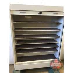 "Lockable Store Display Cabinet (no key) 60""H x 47-1/2""W x 17""D)"