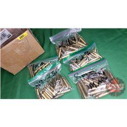 Variety Brass: 8mm Rem Mag (20); 7mm STW (9); 223 (31); 224 (43); 22-250 (40)