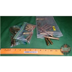 AMMO: Variety (9 Rnds of 300 Savage) & (7 Rnds of 8mm) & (7 Rnds of 8mm Rem Mag) & (7 Rnds of 257 Ro