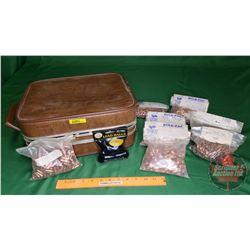Suitcase Lot: Bulk Pack Bullets (incl 9mm, 303, etc) (32lbs)