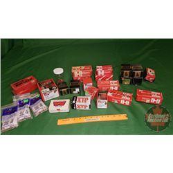 Mixed Box of Bullets (Nosler, Hornady, Winchester, Norman) (33lbs)