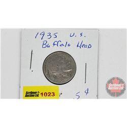 US Five Cents 1935
