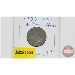 US Five Cents 1937