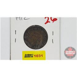 Canada Large Cent 1912