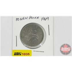 1969 New Pence 10