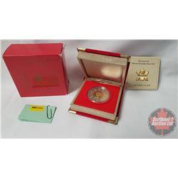 RCM 2001 Lunar Coin (92.5%) COA #66834