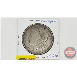 US Morgan Dollar 1921D