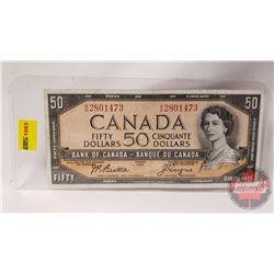 Canada $50 Bill 1954 Beattie/Coyne AH2801473