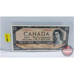 Canada $50 Bill 1954 Beattie/Rasminsky BH1308311