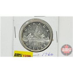 Canada Silver Dollar 1960