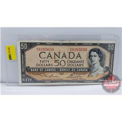 Canada $50 Bill 1954 Lawson/Bouey BH8185650