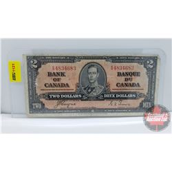 Canada $2 Bill 1937 Coyne/Towers ER4834683