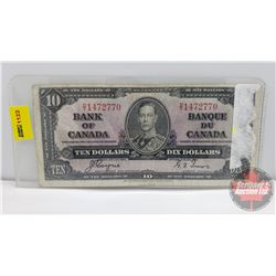Canada $10 Bill 1937 Coyne/Towers DT1472770