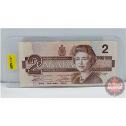 Canada $2 Bill UNC CBA0187000