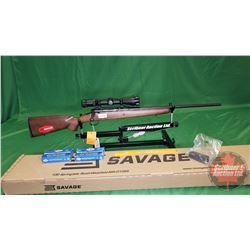 Rifle (Never Fired): Savage Axis 243 Win Bolt S/N#K533494 (w/Scope & 40Rnds Ammo)