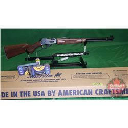 Rifle (Never Fired): Marlin 336C Lever Action 30-30 S/N#MR34938H (w/40Rnds Ammo)