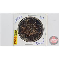 Canada 2007 Fine Silver 1 oz Five Dollar Coin (.9999)