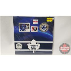 RCM NHL Collector Coin & Stamp Set : Twenty Five Cent 2014 Toronto Maple Leafs