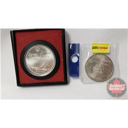 Montreal Olympic Coins (2): $5 & $5