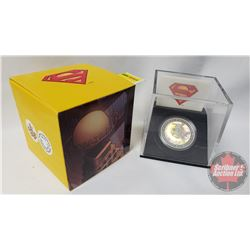 RCM Superman Collector Coin: $20 Fine Silver Coin Metropolis 2013 (75th Anniversary of Superman) (CO