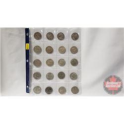 US Half Dollars (20) : 19??; 1928; 1936; 1942; 1950; 1951; 1955; 1954; 1954; 1953; 1965; 1967; 1966;