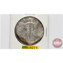 US 1990 Liberty One Dollar 1oz Fine Silver
