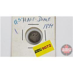 US 1854 Half Dime