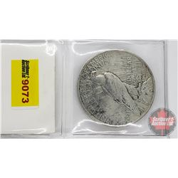 US Peace Dollar 1922