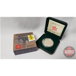 "RCM Golden Jubilee 2002 Proof Dollar ""Regal Curtsey for the Queen"""
