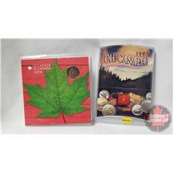 2 RCM Sets: Oh Canada 1998 & O Canada 2014
