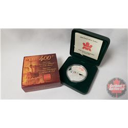 RCM 2004 Proof Dollar : 400th Anniversary First French Settlement in North America (99.99)