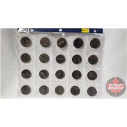 Canada One Dollar (20): 1972; 1972; 1970; 1985; 1983; 1984; 1984; 1984; 1973 PEI (8); 1983; 1983; 19