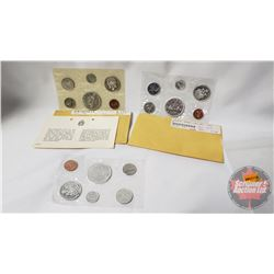 RCM (3) Uncirculated Coin Sets (1961; 1962; 1963)