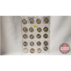 Canada Silver Dollars (20): 1966