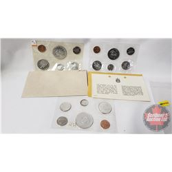 RCM (3) Uncirculated Coin Sets (1964; 1965; 1970)