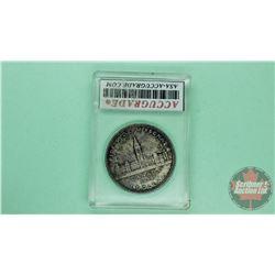 Canada Silver Dollar 1939 (ACG Cert: MS-64)
