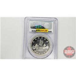 Canada Silver Dollar 1955 (PCGS Cert: PL-64)
