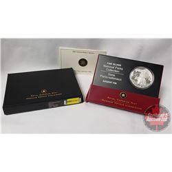 RCM 2006 National Parks - Nahanni $20 Silver Coin (99.99) (COA 04610)