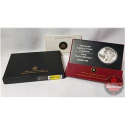 RCM 2006 National Parks - Jasper $20 Silver Coin (99.99) (COA 04019)