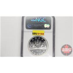 Canada Silver Dollar 1962 (NGC Cert: PL-65)