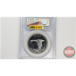 Canada Silver Dollar 1967 (PCGS Cert: PL-65)