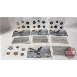 RCM (4) Uncirculated Coin Sets (1992; 1993; 1994; 1995)