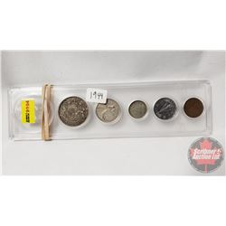 Canada Year Set - Hard Shell Case: 1944 (No Dollar)
