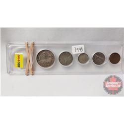 Canada Year Set - Hard Shell Case: 1948 (No Dollar)