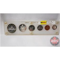 Canada Mint Year Set - Hard Shell Case: 1961