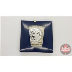 2011 $20 Fine Silver Coin - Commemorative Maple Leaf (.9999)